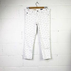 AG Adriano Goldschmied the stilt crop skinny jeans